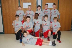 2012 6th grade boys team
