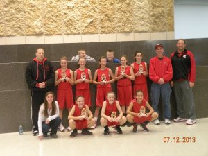 6th Grade Girls 2013 TC Champs