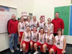 8th grade Girls League Champs 2013
